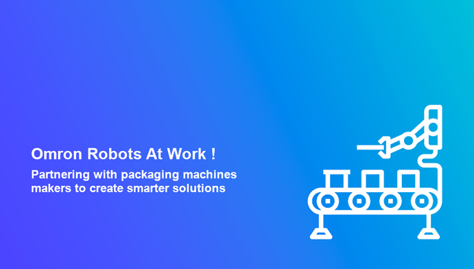 Explore how OMRON robots are contributing towards high productivity, precision and flexibility in the packaging industry!