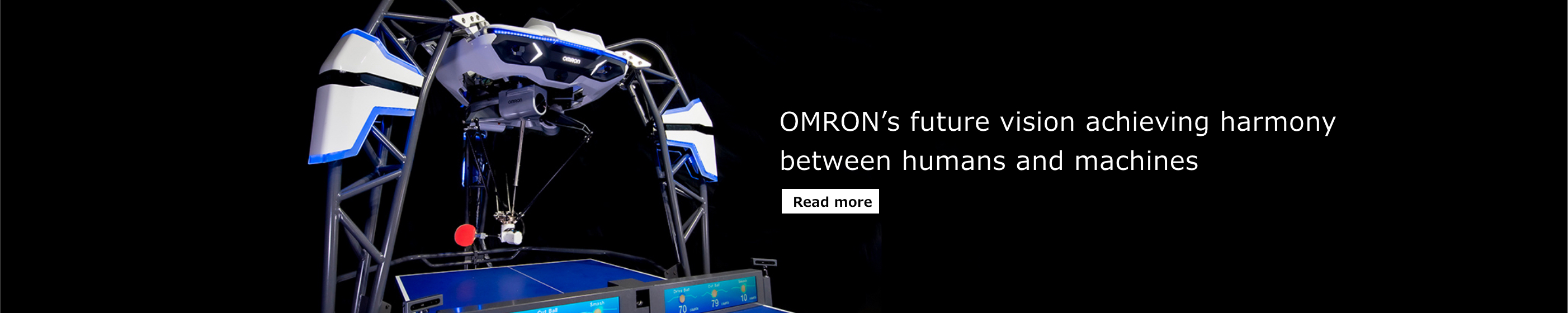 OMRON's future vision achieving harmony between humans and machines ~ Read more