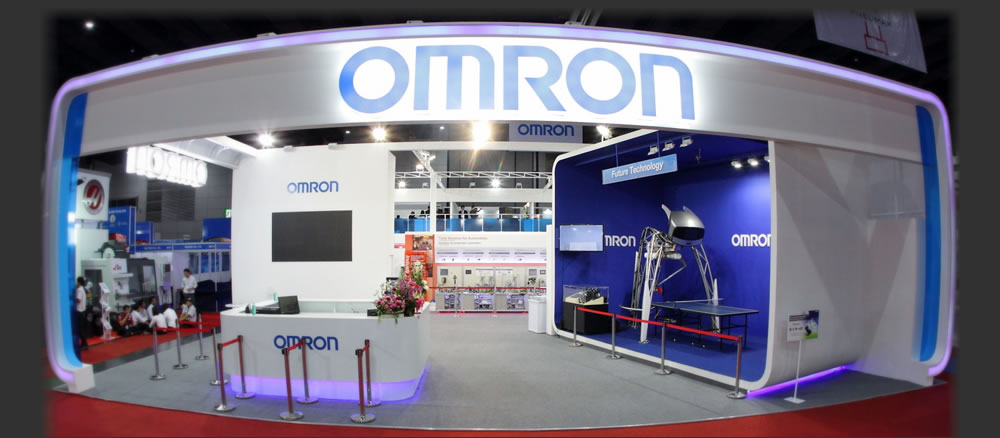 Exhibition Booth Bangkok : Omron total fair thailand providing solutions to