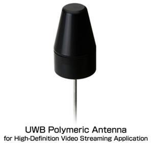 UWB Polymeric Antenna for High-Definltion Video Streaming Application