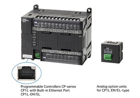 CP1L-EL/EM-type programable controllers/Analog option units