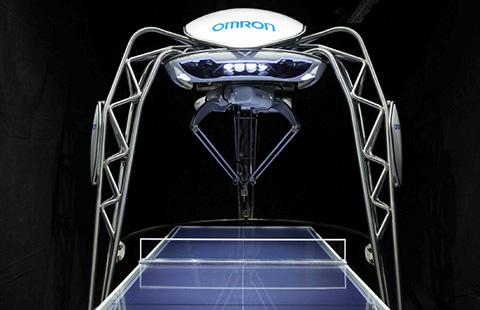 """FORPHEUS"" Chosen as Name for Omron Ping-pong Robot 