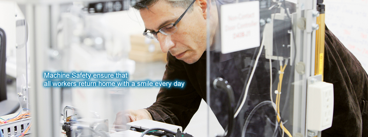 Machine safeguards ensure that all workers return home with a smile every day