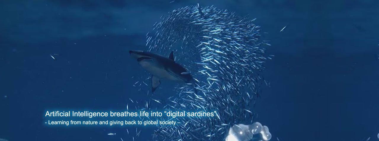 Artificial Intelligence breathes life into digital sardines